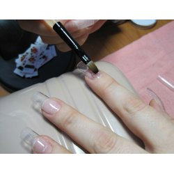 Natural Looking Nail Extensions Using Builder Gel