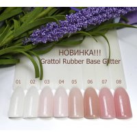 Glitter rubber base GRATTOL